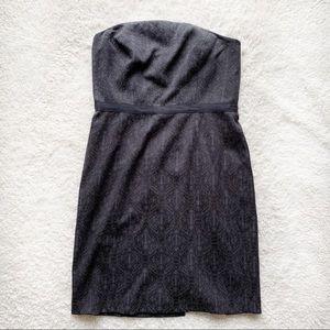 Antonio Melani Little Black Jacquard Dress